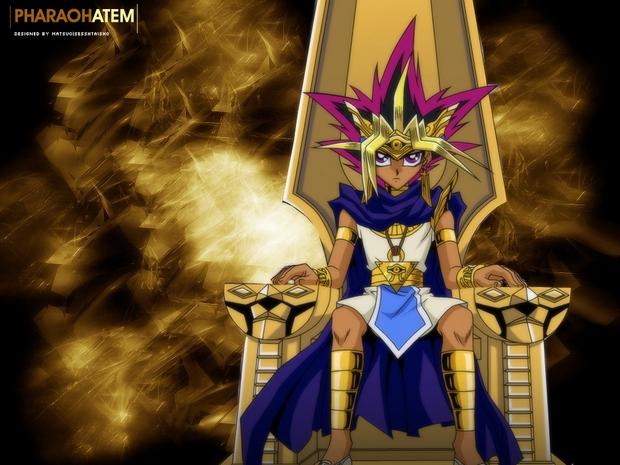 Yu Gi Oh: Fundo de tela do faraó Atem