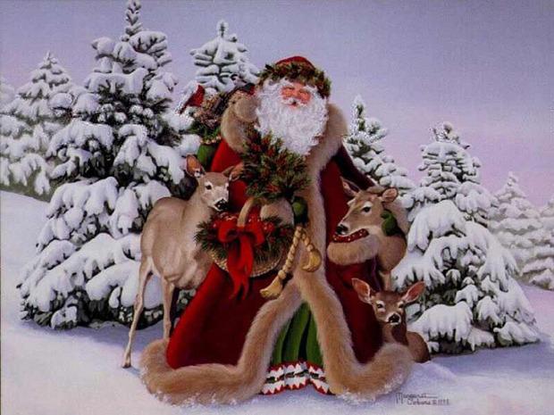 Papél de parede: Papai Noel