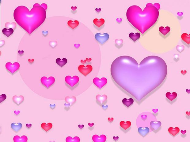 Papél de parede: Dia dos namorados brilhante