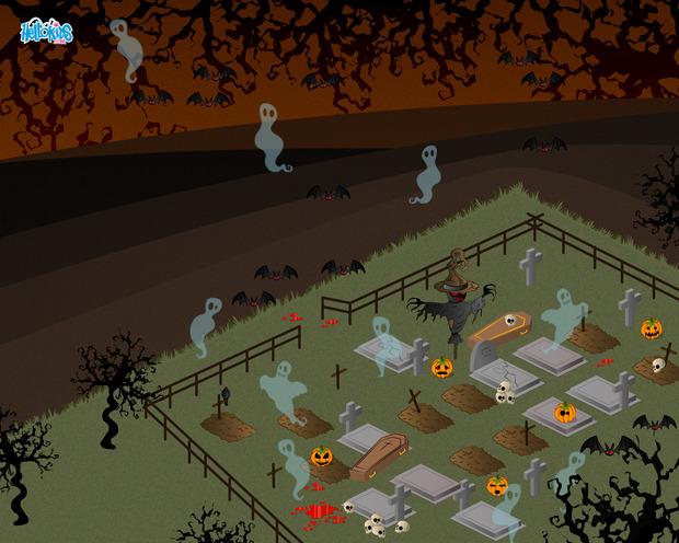 Cemitério assombrado